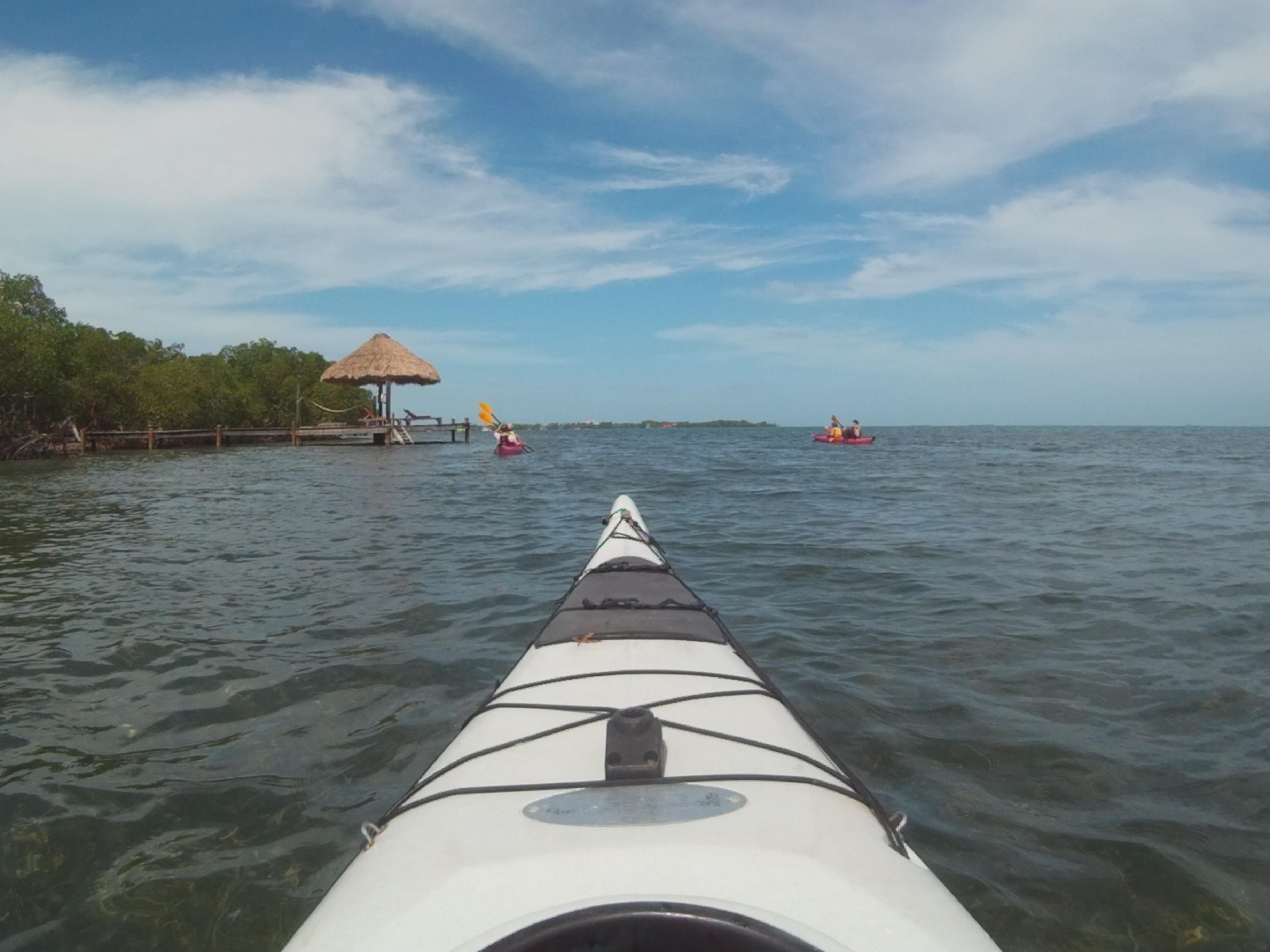 Kayaking Placencia