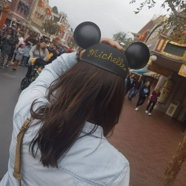Michelle Disneyland Mickey Mouse Hat