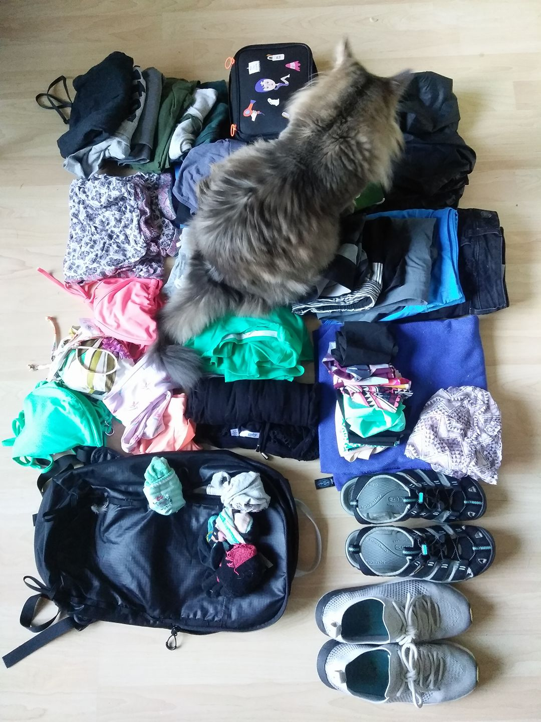 what I am packing to take with me
