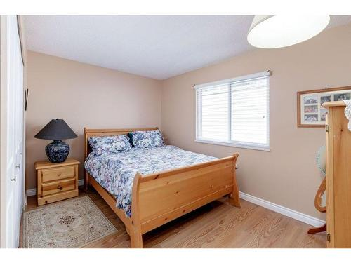 Guest bedroom upstairs is a good size even with the large old furniture they have in it